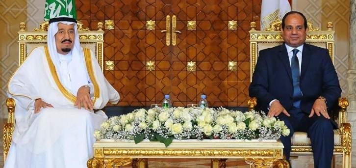 الملك سلمان أكد للسيسي حرص السعودية على تعزيز التعاون الاستراتيجي بين البلدين
