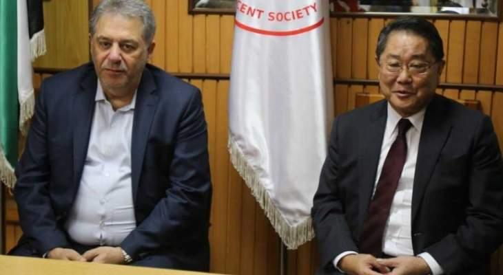 أشرف دبور: التعاون القائم بين سفارتي اليابان وفلسطين سيثمر اكثر بكافة المجالات