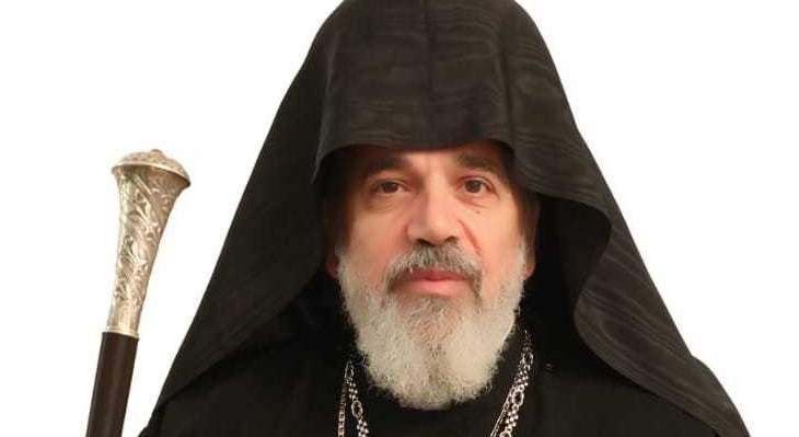 مطرانية الأرمن الأرثوذكس: انتخاب المطران ناريك أليمزيان مطرانا للطائفة
