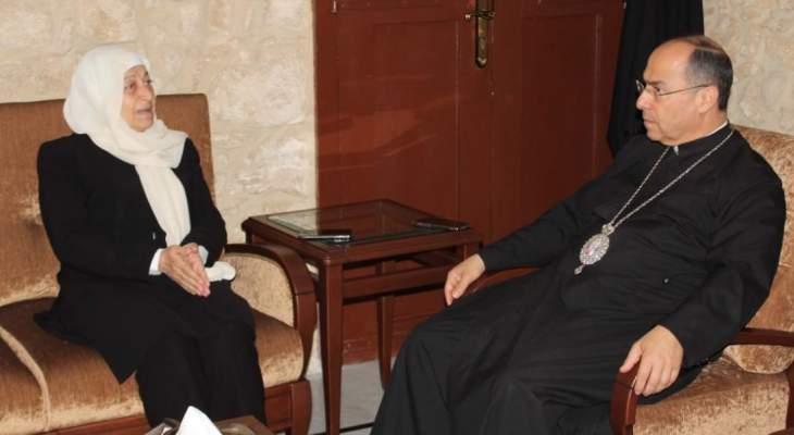بهية الحريري:مستمرون في النقاش حول مشاريع صيدا ودورها وانطلاقتها