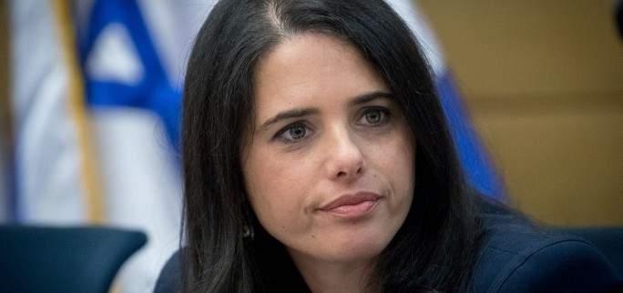 شاكيد: إسرائيل أصبحت عضوا بمجموعة عالمية لمكافحة غسل الأموال وتمويل الإرهاب