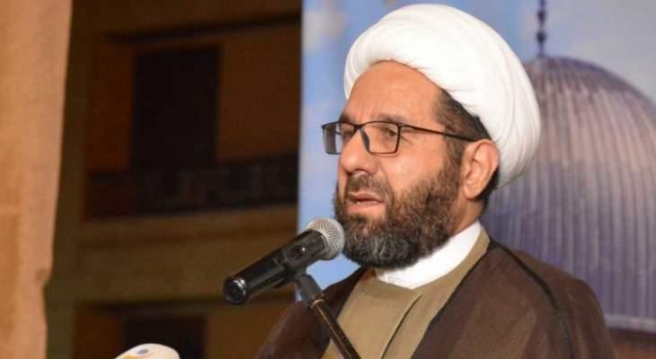 دعموش: لبنان لن يكون جزءا من الخطة الاميركية لمحاصرة المقاومة