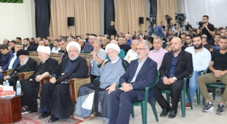 احياء الليلة السادسة من عاشوراء في المجلس الإسلامي الشيعي الأعلى