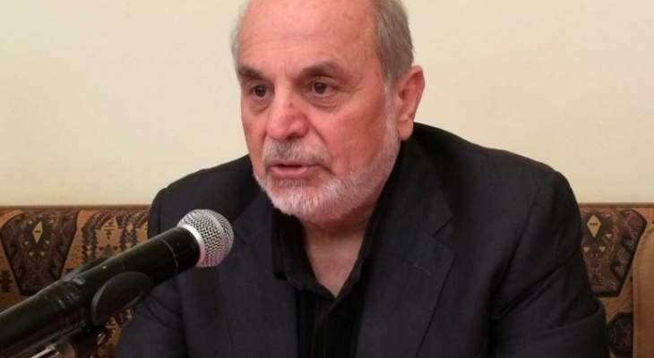 الاخبار: حردان ينزع فتيل استقالة رئيس الحزب القومي حنا الناشف