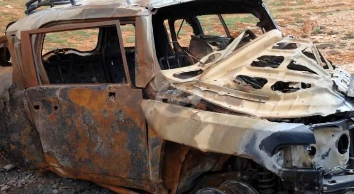 انفجار سيارة مفخخة في سوق الهال وسط عفرين بريف حلب الشمالي