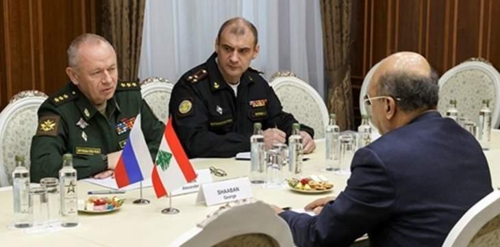 دفاع روسيا:نائب شويغو بحث مع جورج شعبان عودة النازحين السوريين لبلادهم