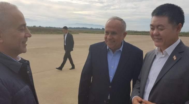 المرعبي: مطار القليعات يحظى بإهتمام مباشر من قبل الحريري