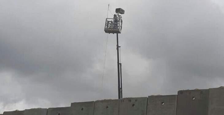 الجيش الاسرائيلي اطلق منطادا مجهزا بكاميرات مراقبة في العباسية