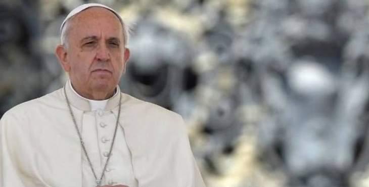 البابا يناشد لوضع حد للعنف في الكونغو
