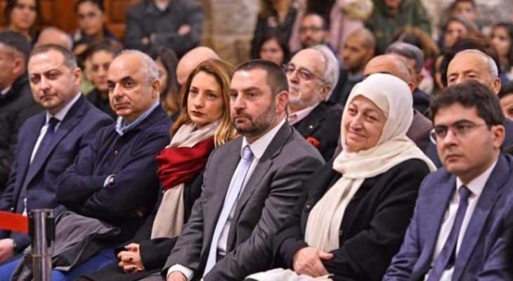 جزين تحتفل بالميلاد بريسيتال في كنيسة مار مارون بمشاركة نواب وفاعليات