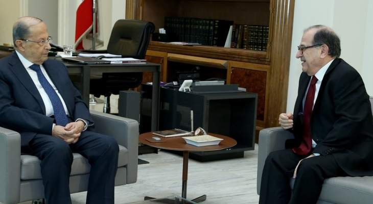 الرئيس عون أجرى مع بقرادوني جولة أفق تناولت التطورات السياسية الراهنة
