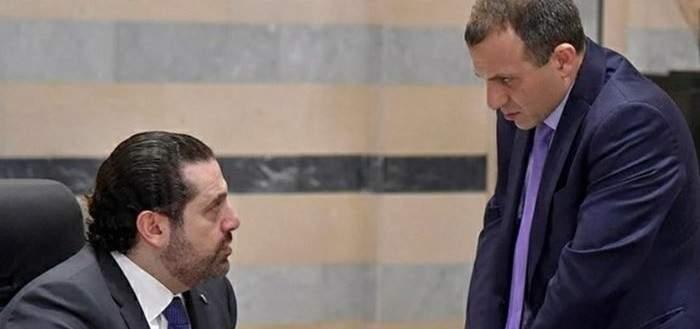 الحريري وباسيل: إنكار وعناد يعطّلان أمور البلاد