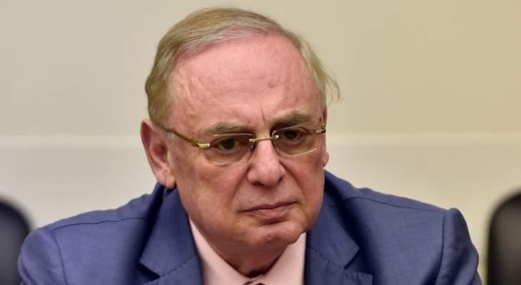 البستاني:المقاعد الوزارية يحددها الحريري بالتنسيق مع عون والقوات والتيار على تفاهم