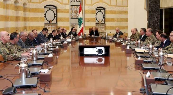 """مسؤول أمني لبناني لـ""""الراي"""":  الوضع الأمني ممتاز وممسوك مئة بالمئة وأكثر"""