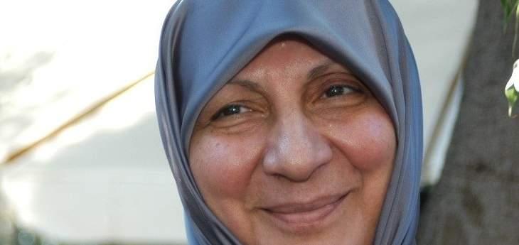 رباب الصدر:قضية إخفاء الامام الصدر تمر في منعطفات تستوجب مضاعفة الجهود