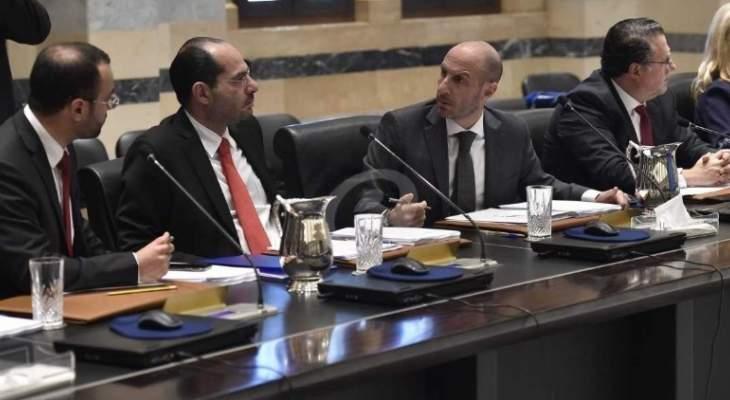 الأنباء: جدول اعمال جلسة الحكومة تضمن اتفاقات بين لبنان ودول ومؤسسات عربية
