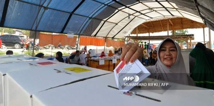 الإندونيسيون يصوتون لانتخاب رئيس جديد للبلاد