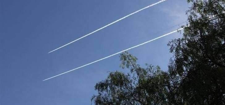 النشرة: الطيران الحربي الاسرائيلي يحلق في سماء الجنوب