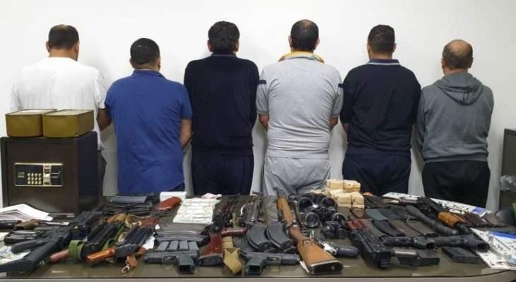 توقيف شبكة مخدرات كانت بصدد التحضير لعملية تهريب ضخمة إلى دولة عربية