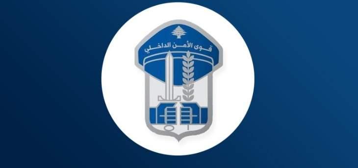 قوى الأمن: ضبط 1100 مخالفة سرعة وتوقيف 82 مطلوبا بتاريخ يوم أمس