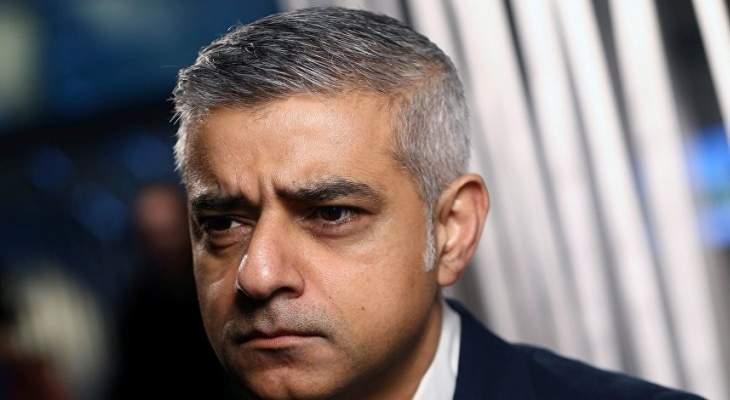 عمدة لندن يعلن عن تلقيه تهديدات بالقتل