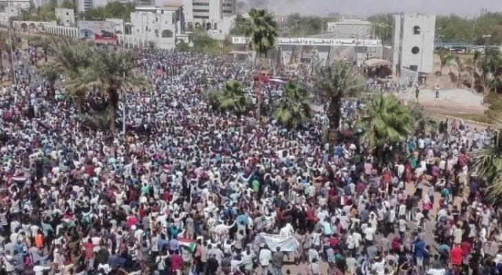 قوى التغيير وتجمع المهنيين بالسودان يدعوان أنصارهما للإعتصام رفضا للحكم العسكري