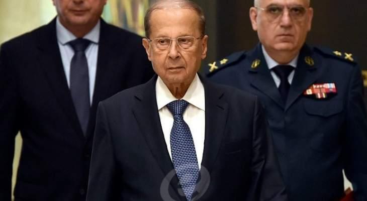 الرئيس عون: لن أوقع على أي عفو عام يمنح لمن تورطوا بقتل عسكريين