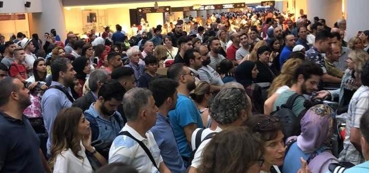 شركة سيتا: نعتذر من المتضررين بالمطار ونتحمل المسؤوليات المتوجبة علينا