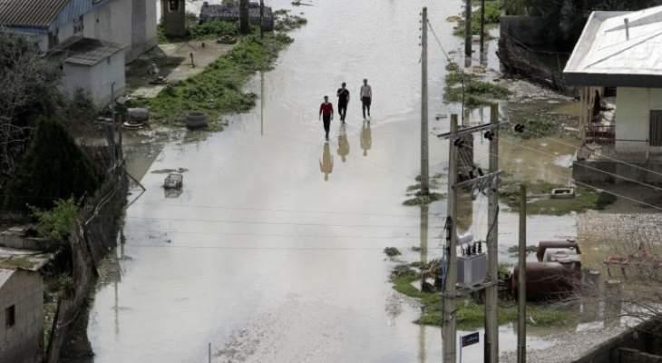 إعلان حالة الطوارئ في ثلاث مناطق إيرانية تحسبا للسيول
