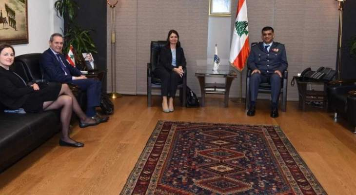 اللواء عثمان بحث وسفيرة الإتحاد الأوروبي الأوضاع العامة