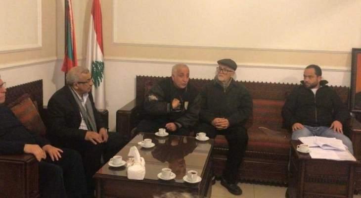 أسامة سعد استقبل وفدا من تجار صيدا