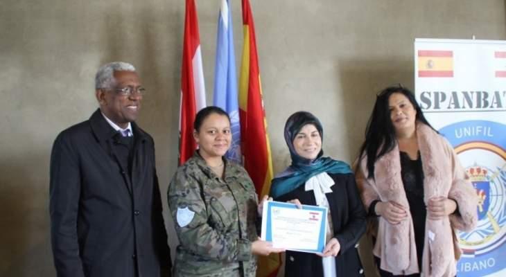 اليونيفيل نظمت دورة تدريبية للتطوير المهني للنساء في القطاع الشرقي