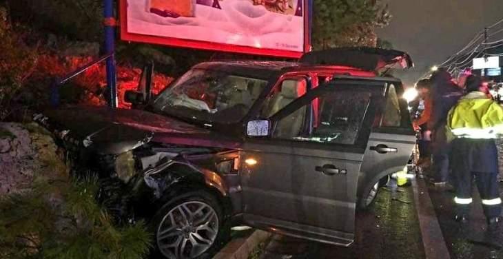 قتيل وجريح في حادث سير على طريق عام عشقوت