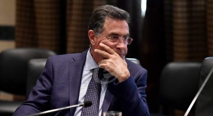 تويني:يجب ان تعبر جميع الأموال للنازحين من خلال البنك المركزي اللبناني