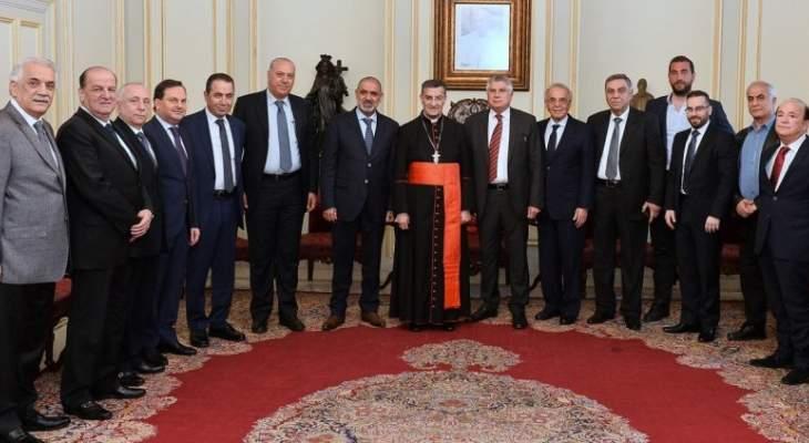الراعي هنأ أمهات لبنان والتقى ديب وجمعية منشئي وتجار الأبنية وسفير لبنان بنيجيريا