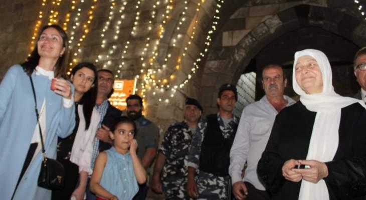 سفيرة الاتحاد الأوروبي: لزيارة مدينة صيدا نكهة خاصة ومميزة كونها تأتي في شهر رمضان