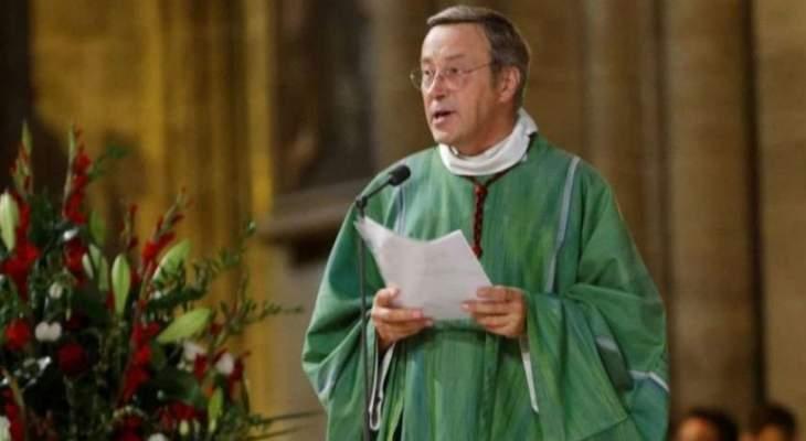 """رئيس كاتدرائية نوتردام: إنقاذ سترة سان لويس و""""إكليل الشوك"""" من الحريق"""
