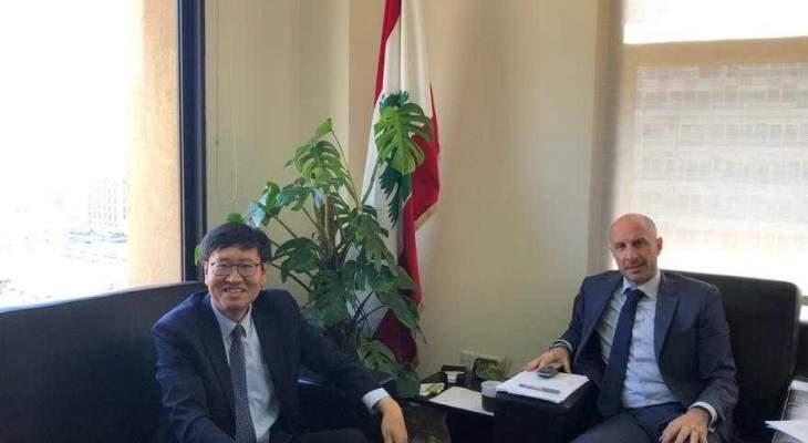 وزير البيئة يطلب الادعاء على صيّاد مخالف ويلتقي سفيري كوريا وسويسرا