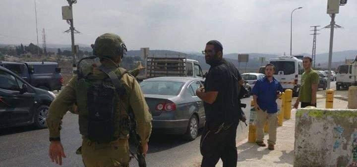 إصابة جندي اسرائيلي بعملية طعن جنوب نابلس وفرار المنفذ