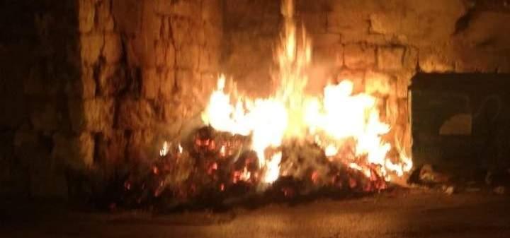 الدفاع المدني: إخماد حريق نفايات في العباسية- صور