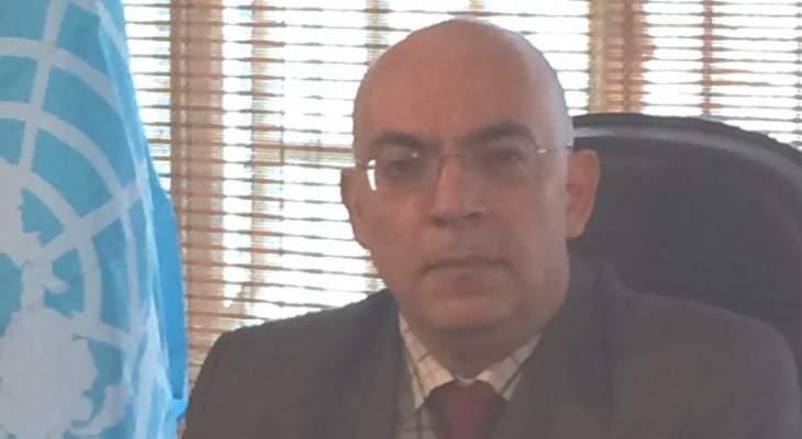 أبو سعيد: الإعتداءات الإسرائيلية على سوريا إنتهاك صارخ لنص القرار 2131