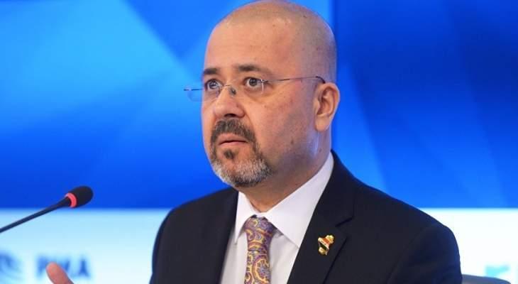 السفير العراقي في موسكو: بغداد قررت شراء منظومة صواريخ إس-400 الروسية