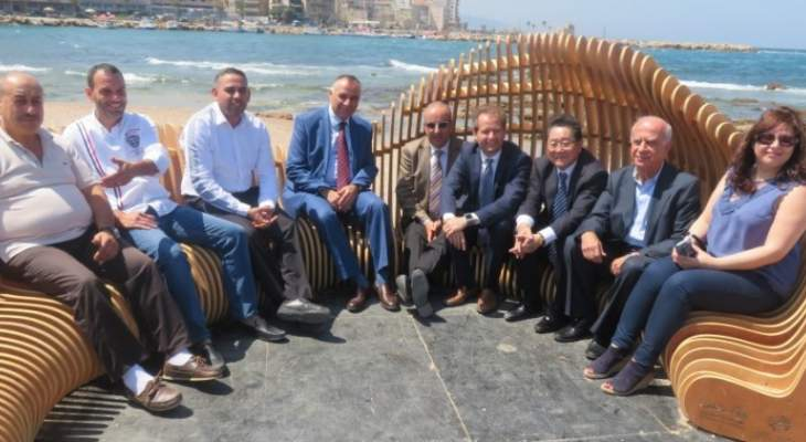 سفير اليابان من طرابلس: لدعم قطاع المفروشات لما له من مردود اقتصادي