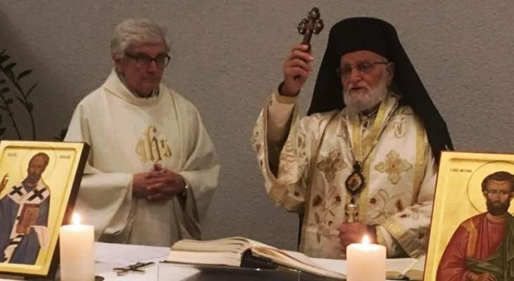 البطريرك لحام: السلام هو الضامن الوحيد للحضور المسيحي بالمنطقة ولنبذ الكراهية