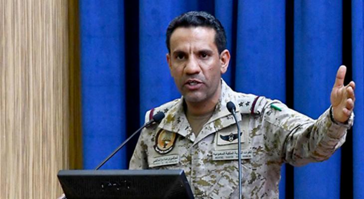 المالكي: القيادة المشتركة للتحالف ملتزمة بتطبيق أعلى معايير الاستهداف