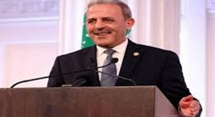 عيسى: لملاحقة الجهة الاعلامية المسربة لمحاضر لقاءات الوفد اللبناني بواشنطن