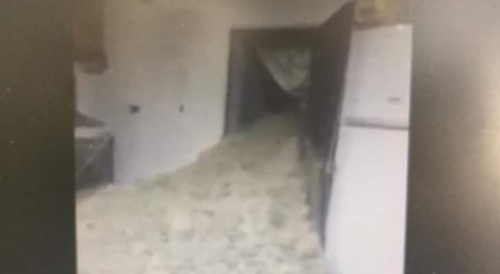رئيس بلدية قصرنبا للنشرة: تم اخلاء المنزل الذي اجتاحته الوحول