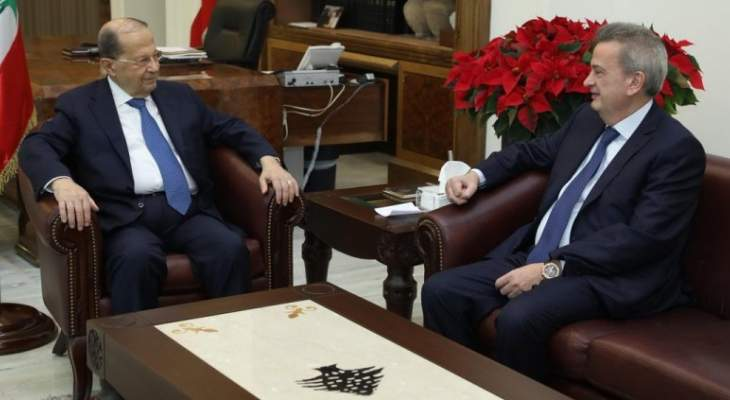 مصدر للجمهورية: العلاقة بين الرئيس عون وسلامة على ما يرام