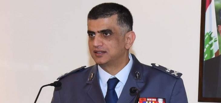 اللواء عثمان شكر المواطنين ودعاهم لإزالة الصور واللافتات المؤيدة اعتبارا من الغد