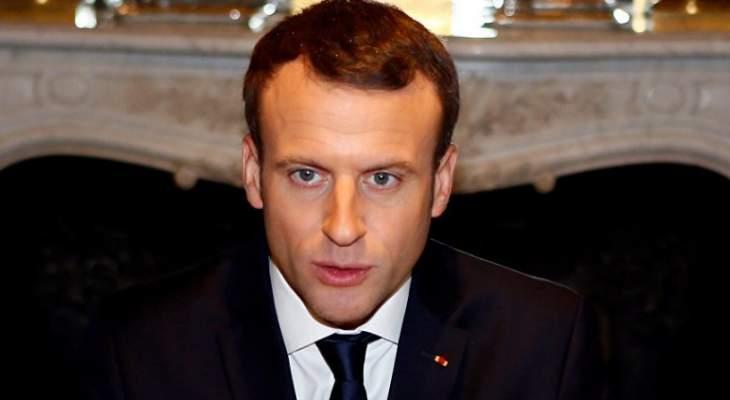 """ماكرون: حلف الاطلسي """"الناتو"""" يخرج أكثر قوة بعد قمة بروكسل"""